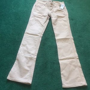 Old Navy Natural Bootcut Corduroy Pants
